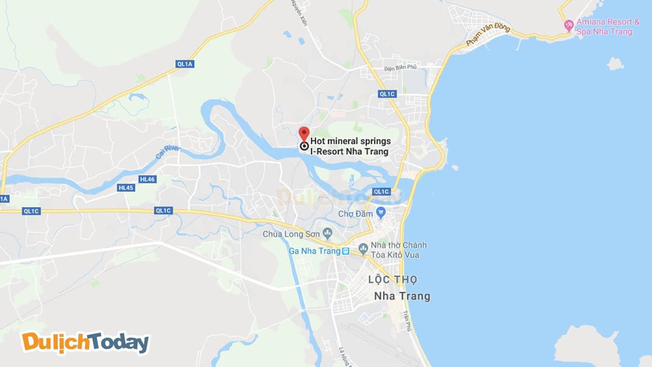 I - Resort cách trung tâm TP Nha Trang khoảng 4 km