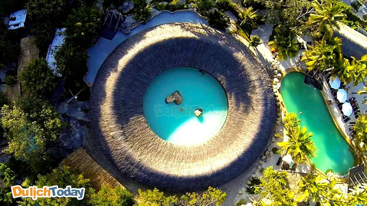 Toàn cảnh I resort Nha Trang từ trên cao