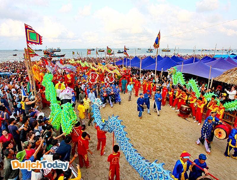 Lễ hội lớn tại Vũng Tàu Dinh Cô
