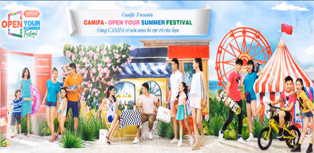 Lễ hội thời trang mùa hè Canifa 2018
