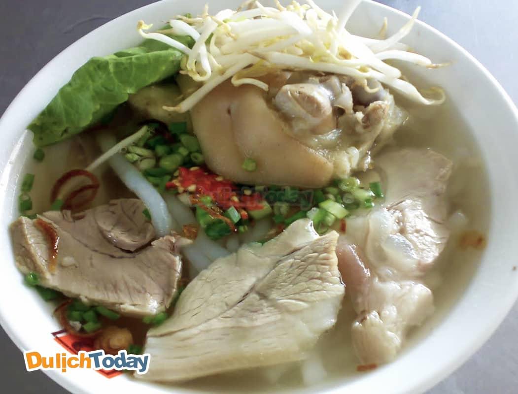 Mì thảy Nghiệp Kí món ăn lâu đời tại Vũng Tàu