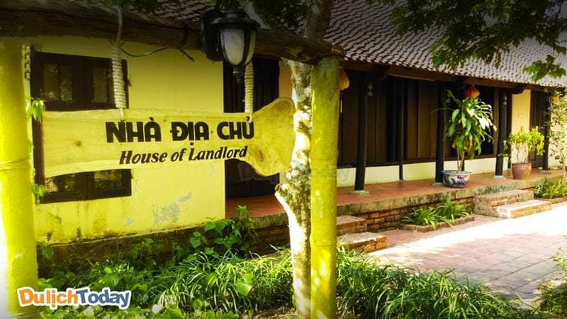 Khu Nhà Cổ của khu nghỉ dưỡng Tản Đà Resort được xây dựng mang phong cách dân dã thưở xưa
