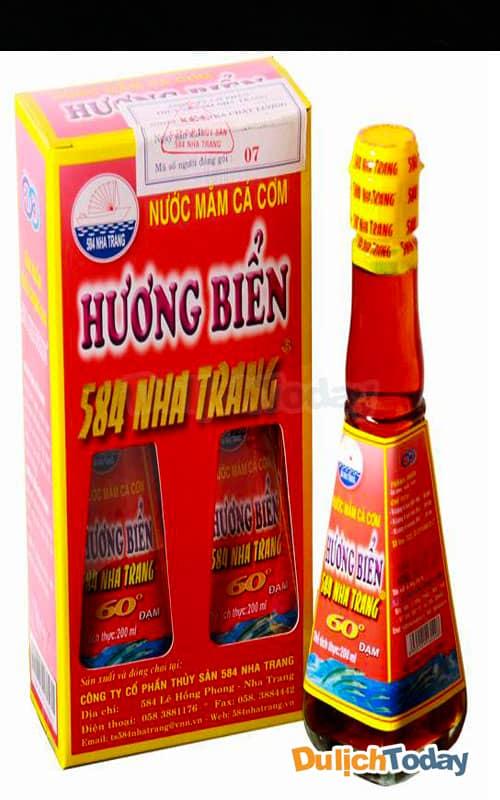 Địa chỉ mua đặc sản Nha Trang - nước mắm: 584 Nha Trang