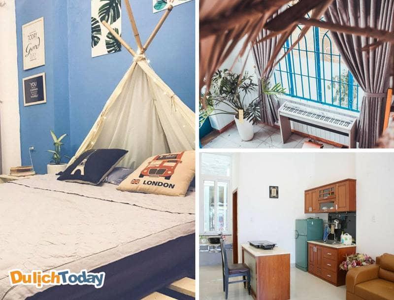 Các phòng của Homie homestay cực đẹp