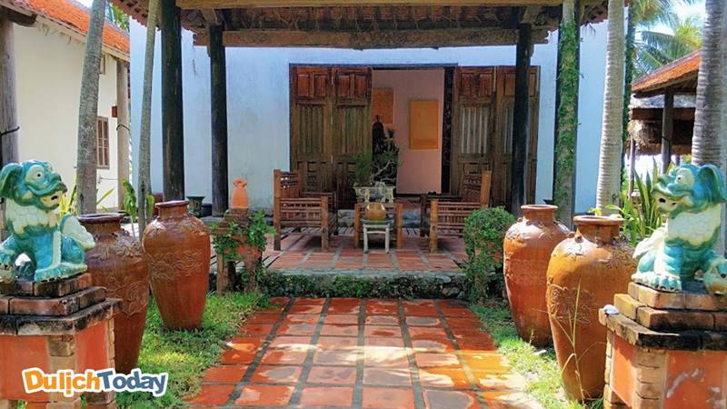 Villa tại Somedays of silence mang đặc trưng Việt Nam