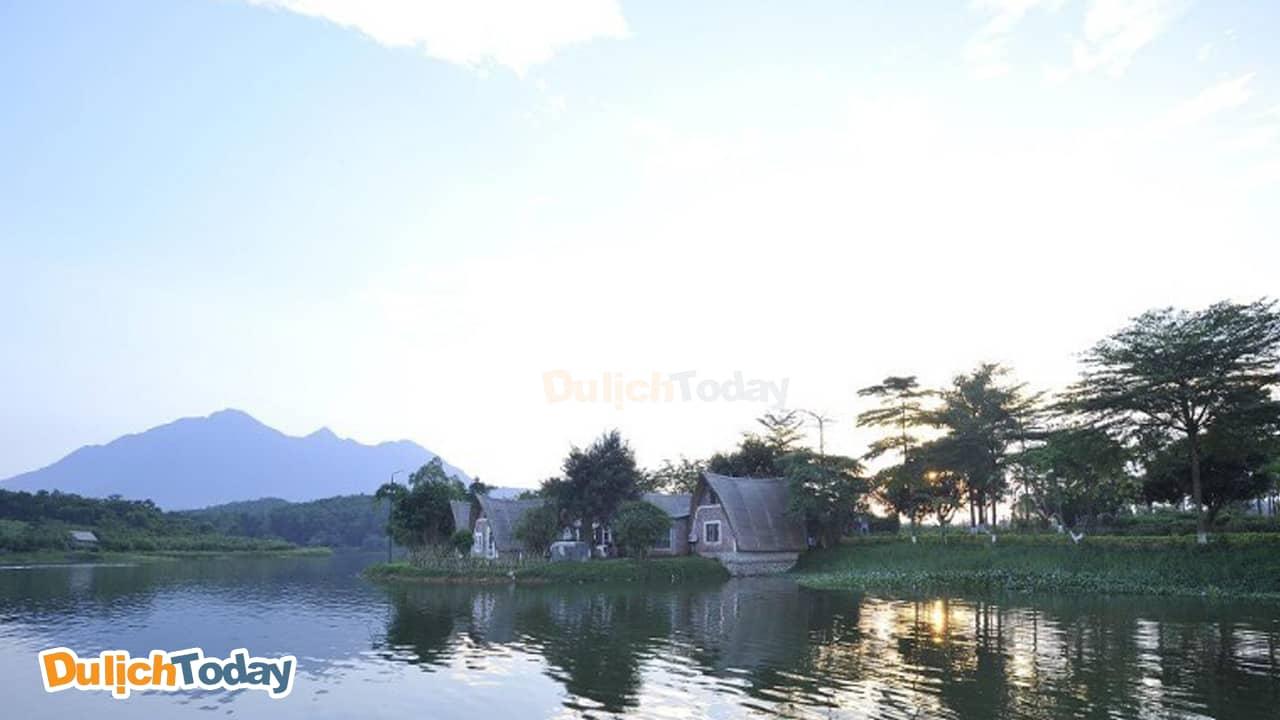 Tản Đà Resort nằm ở Tản Lĩnh, Ba Vì, Hà Nội