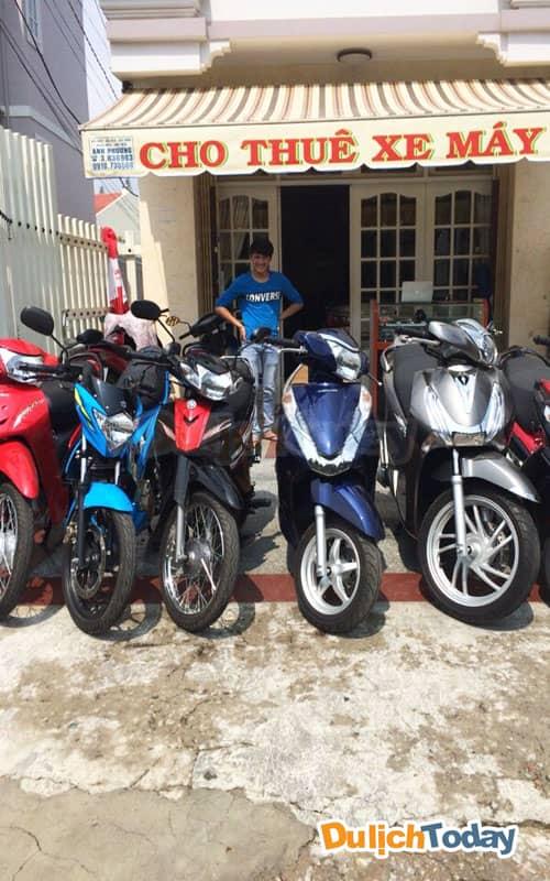 Thuê xe máy để khám phá toàn thành phố Nha Trang xinh đẹp