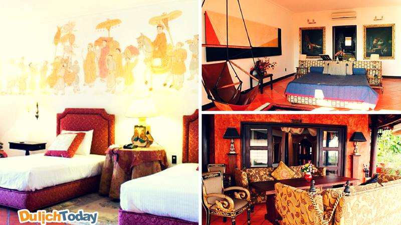 Không gian Việt trong mỗi phòng nghỉ tại Bình An Resort