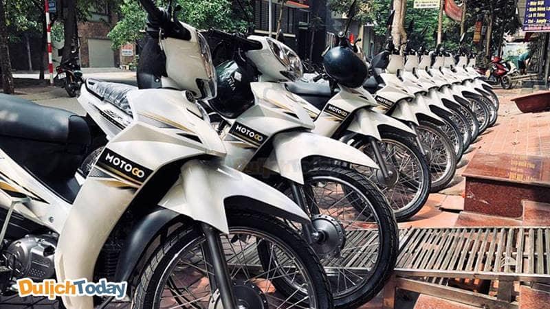 Motogo - địa chỉ cho thuê xe máy ở Hà Nội không cần cọc