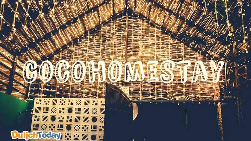 Coco homestay được chăm chút tỉ mỉ đến từng chi tiết mang đến sự ấm cúng cho du khách khi nghỉ lại