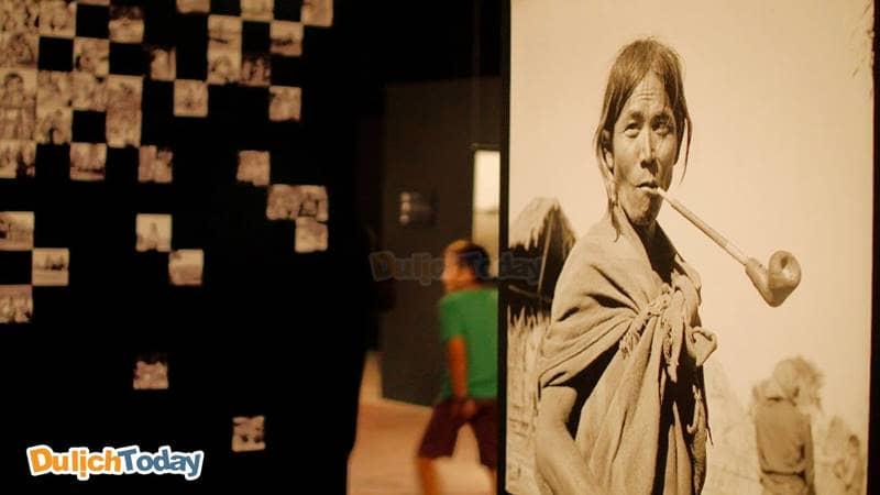 Ảnh chụp tại bảo tàng Dân tộc học Việt Nam