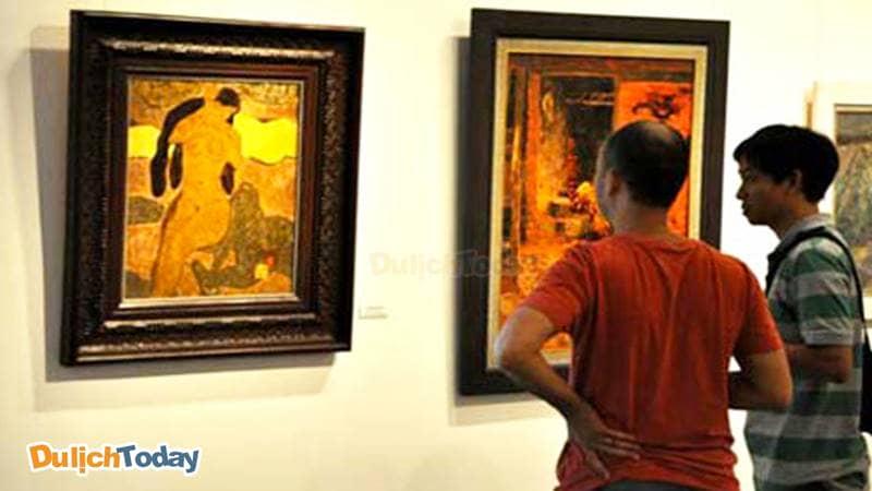 Triển lãm ảnh tại Bảo tàng Mỹ thuật Việt Nam