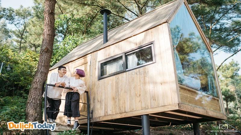 Những căn nhà gỗ xinh xắn ở U-Lesa rất thích hợp cho các cặp đôi