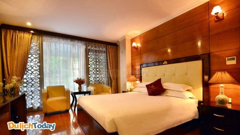 Không gian sang trọng tại Golden Cyclo Hotel