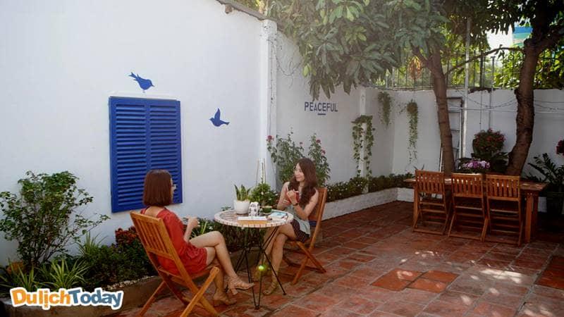 Peaceful house sẽ tạo cho bạn cảm giác yên bình thư thái như chính cái tên của nó