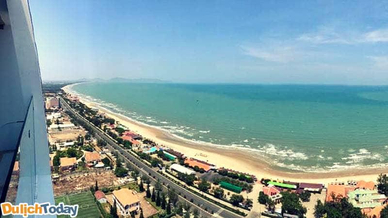 Cảnh biển nhìn từ Premium Beach Homestay