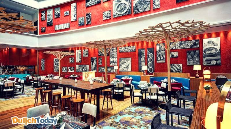 Nhà hàng, bar của Pullman cũng sẽ đem tới nhiều trải nghiệm ẩm thực độc đáo dành cho du khách