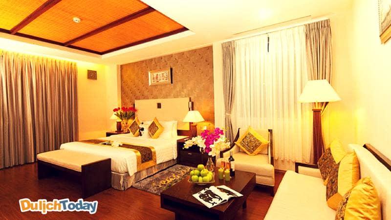 Các căn phòng trong Seaside Resort Vũng Tàu luôn mang đến không gian âm cũng như ở nhà dành cho du khách