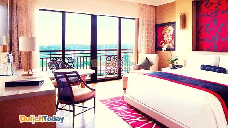 Phòng nghỉ hiện đại tại The Grand Hồ Tràm Strip resort Vũng Tàu gần biển