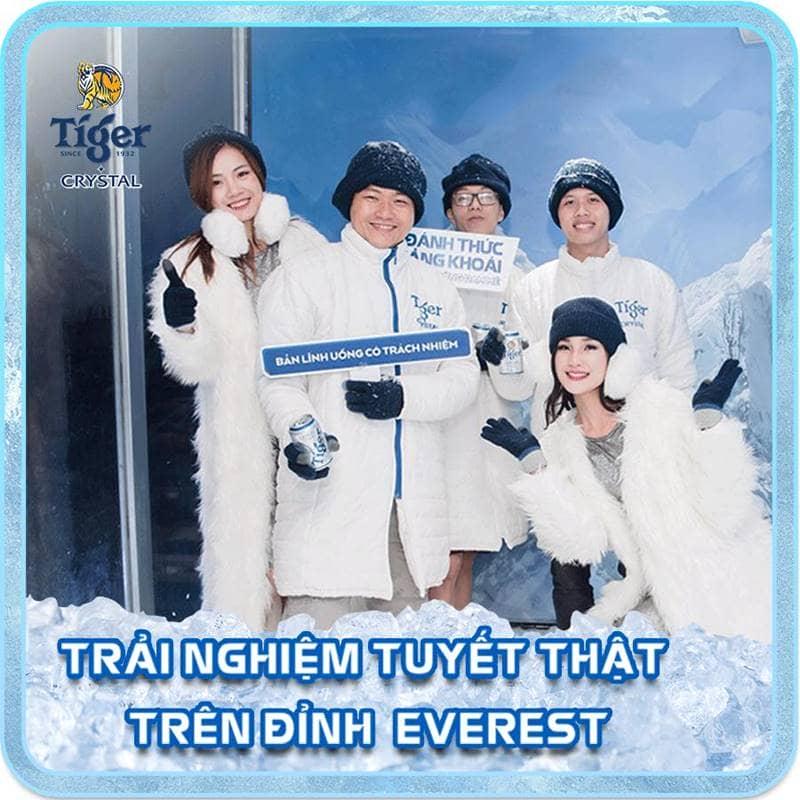 Sự kiện tiger crystal Everest - Hà Nội