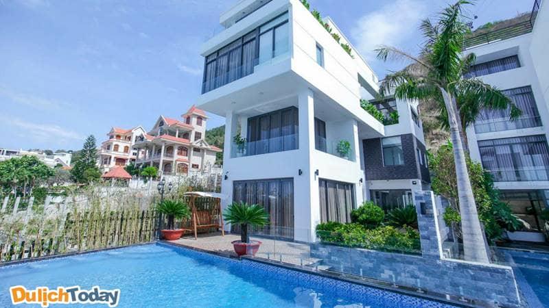 Topaz 2 homestay là homestay Vũng Tàu có hồ bơi ngoài trời rộng, sạch đẹp nhất