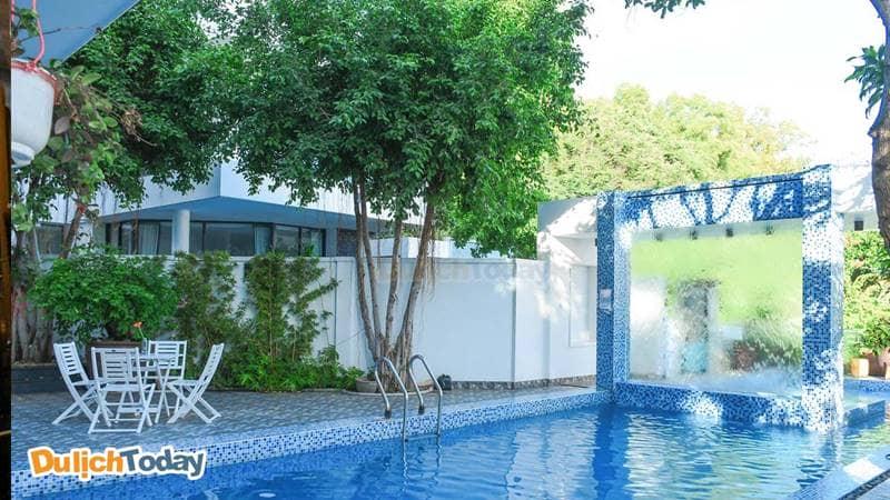 Bể bơi tại biệt thự Ocean 5, Vũng Tàu