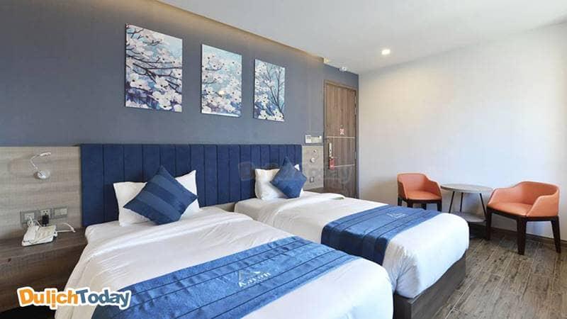 Phòng tiêu chuẩn tại Aaron khách sạn 3 sao Nha Trang