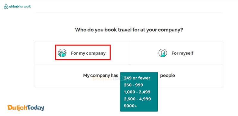 Airbnb for work cung cấp nơi ở cho chuyến công tác với số đông người