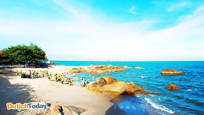 Vũng Tàu có rất nhiều bãi biển đẹp