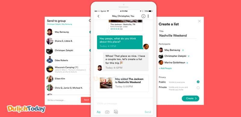 Airbnb tích hợp tính năng chat trực tiếp giữa chủ nhà và khách