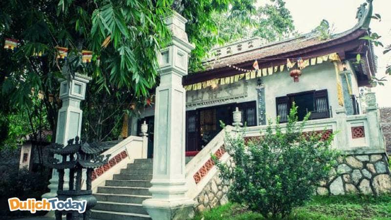 Chùa Sơn Tịnh - điểm nhấn linh thiêng trong khu nghỉ dưỡng VResort