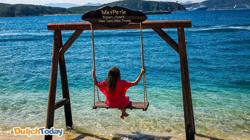 Lên những shoot hình cực chất khi nghỉ dưỡng tại Merperle Hòn Tằm resort 5 sao