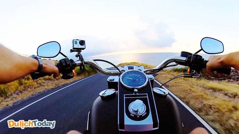 Di chuyển xe máy từ Vũng Tàu đến hồ Đá Xanh