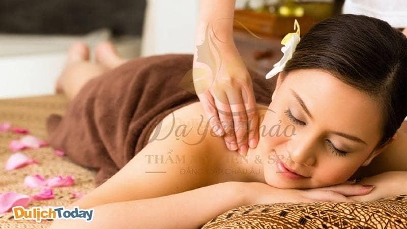 Massage thư giãn tại Dạ Yến Thảo Spa