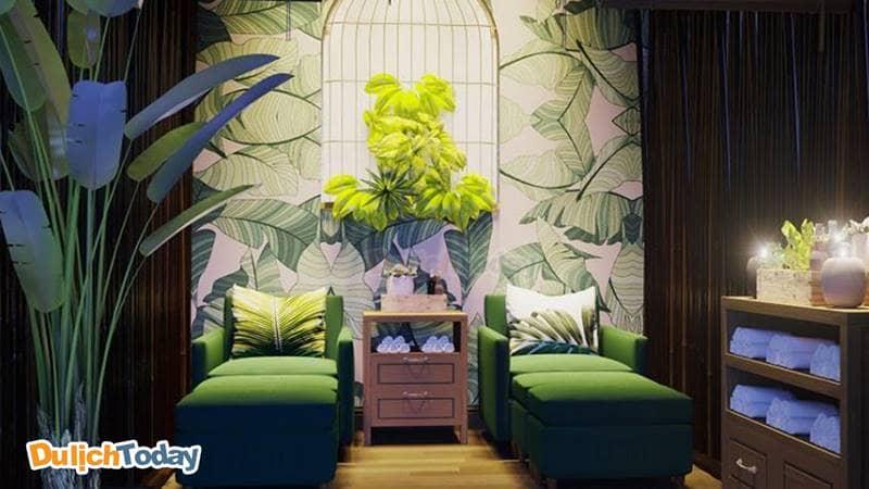 Không gian ấm cúng và dễ chịu ở TRE Boutique Massage