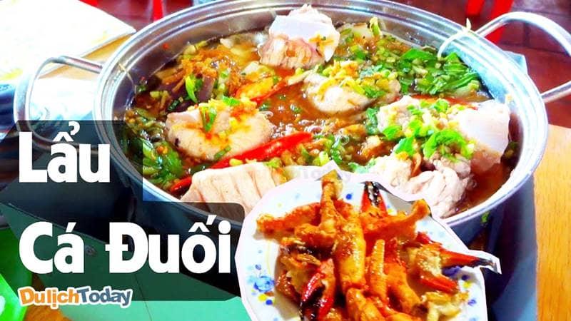 Lẩu cá đuối Trương Công Định một điểm ăn uống Vũng Tàu nhất định phải ghé qua