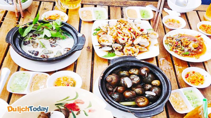 Địa điểm ăn uống Vũng Tàu