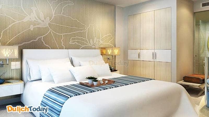 Trải nghiệm phòng đẹp, nội thất sang trọng tại Diamond bay hotel Nha Trang