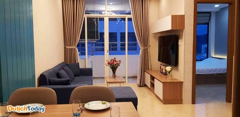 Phòng ở Airbnb đẹp và giá không đắt nếu đi nhiều người