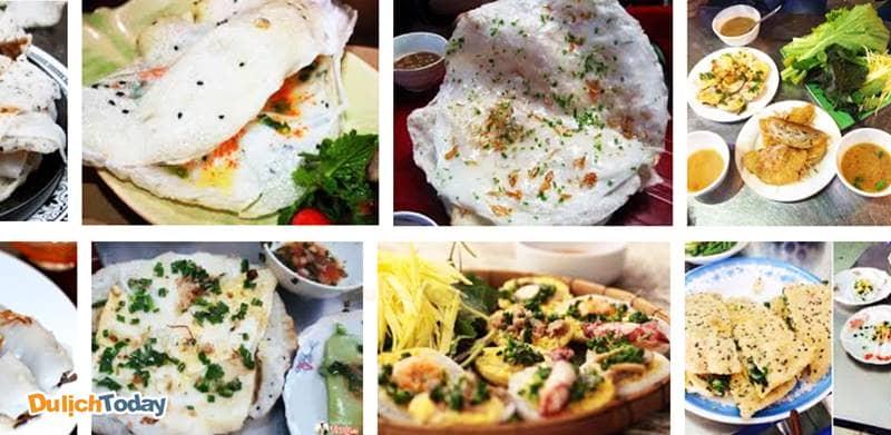 Các loại bánh Nha Trang: bánh căn, bánh ướt, bánh bèo, bánh đập