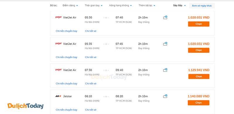 Giá vé máy bay Hà Nội - Nha Trang trung bình từ 1.000.000 vnđ/người/lượt