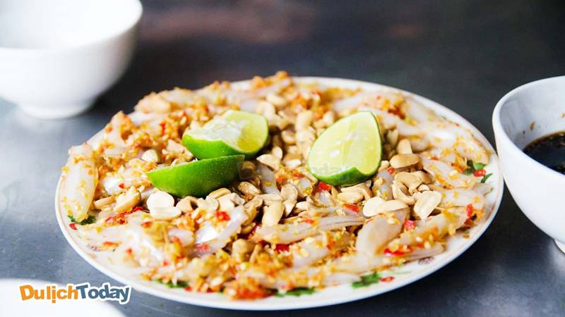 Gỏi cá mai món ăn đặc sản Vũng Tàu