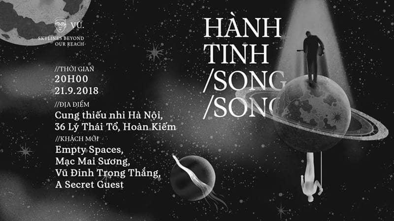 Âm nhạc Hành tinh song song - Vũ.
