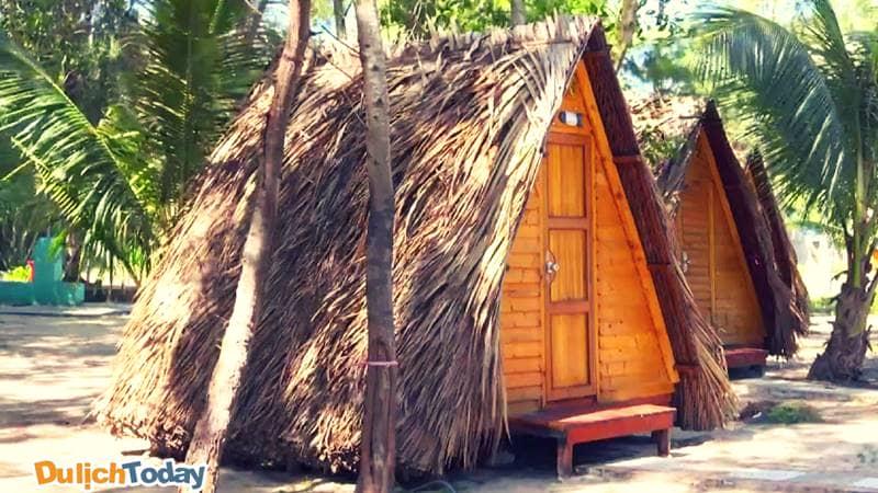 Khu lều gỗ đầy mới lạ trong Hodota Vũng Tàu Resort