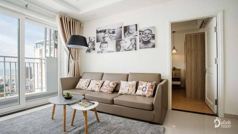 Phòng khách Nền Homestay Vũng Tàu