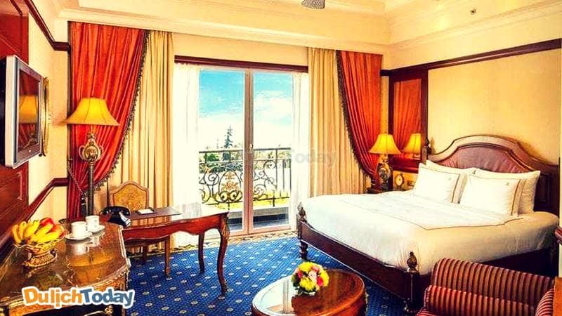 Trải nghiệm phong cách hoàng gia Châu Âu tại mỗi căn phòng ở The Imperial Residence Vũng Tàu