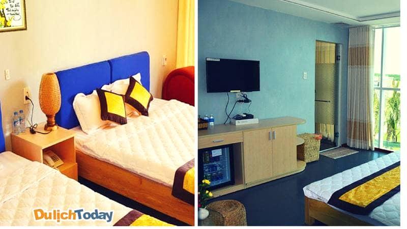 Phòng ngủ đầy đủ tiện nghi tại Irelax Bangkok resort