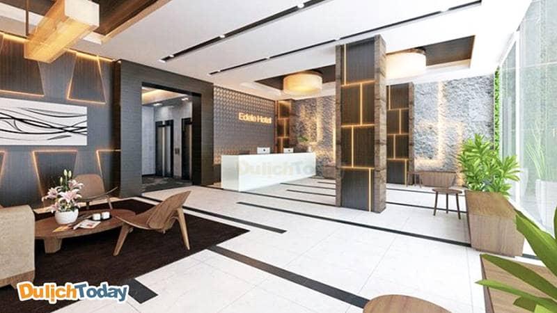 Edele Hotel Nha Trang thiết kế theo lối phong cách hiện đại