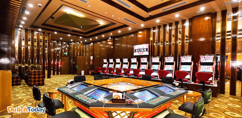 Phòng chơi game là một trong những dịch vụ tại Nha Trang Lodge Hotel