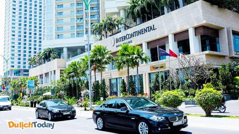 Khách sạn 5 sao Intercontinetal Nha Trang nằm trên đường vàng Trần Phú